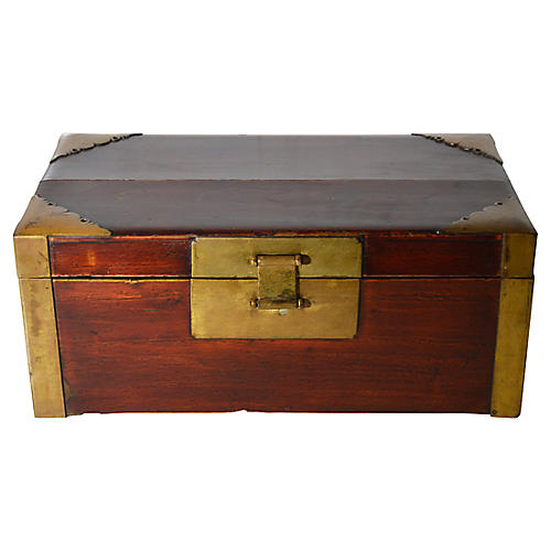 Chinese Lacquered Document Box