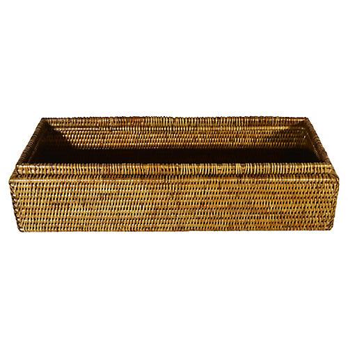 Handwoven Burmese Rattan Box