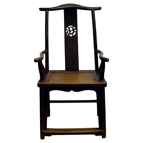 Antique Lamp Hanger Chair