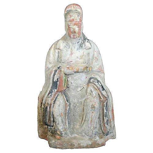Terracotta Court Figure Statue