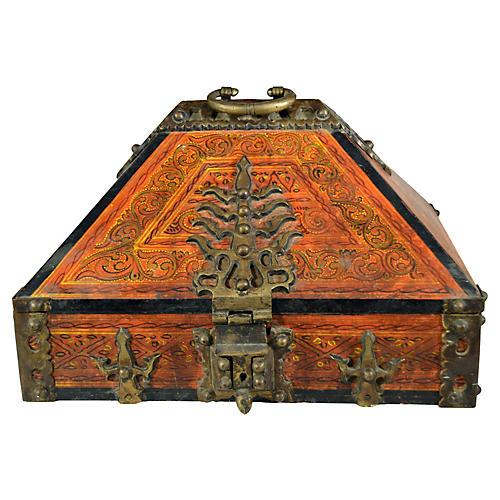 Dowry Box w/ Bronze Hardware