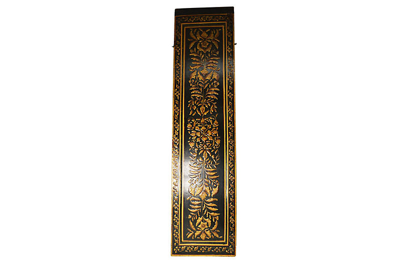Indian Hand-Painted Lacquered Door