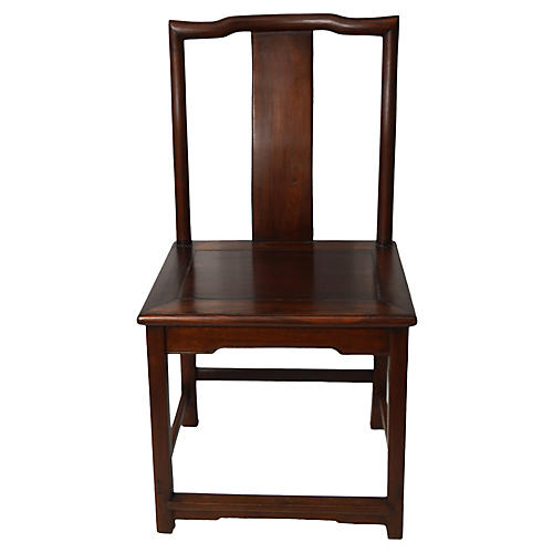 Antique Yoke-Back Chair