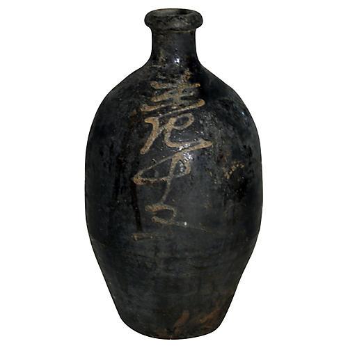 Antique Sake Bottle