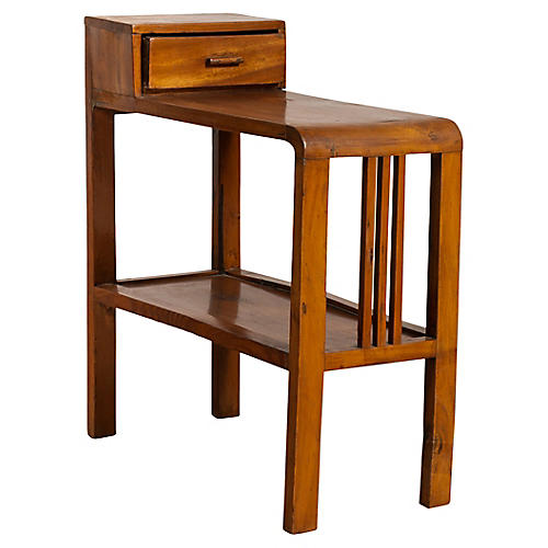 Dutch Colonial Midcentury Side Table