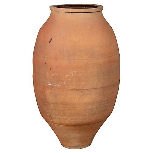 Large Japanese Shigaraki Stoneware Urn