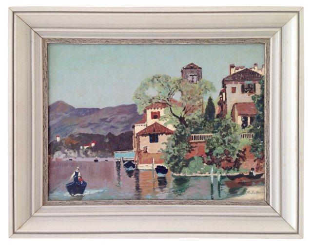 Lake Lagona Italy, 1956