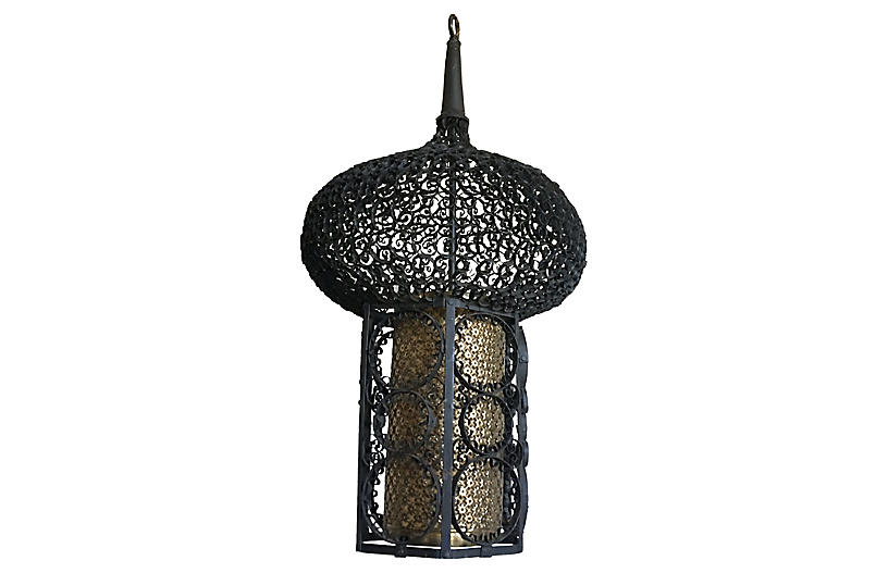French Moroccan Pendant
