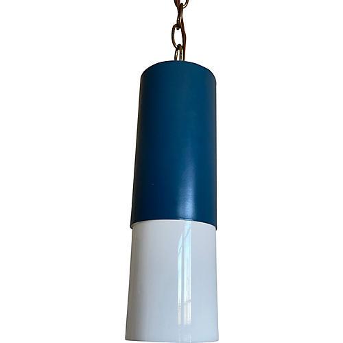 Modern Two-Tone Pendant Light