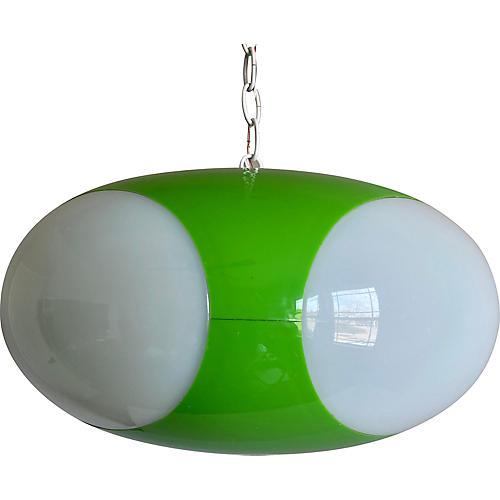 1970s Belgian Pendant Light