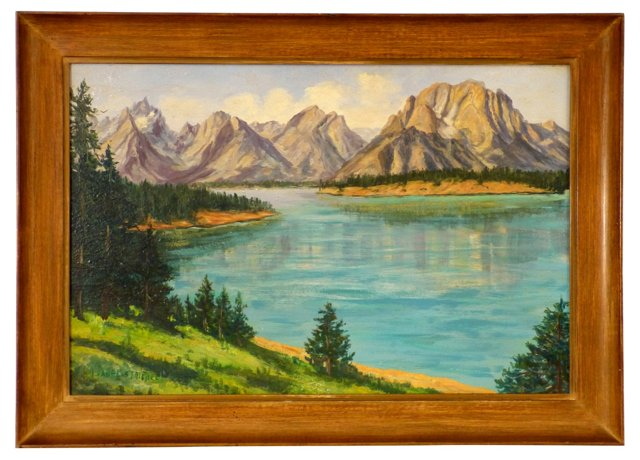 Landscape by Isabel Striebel