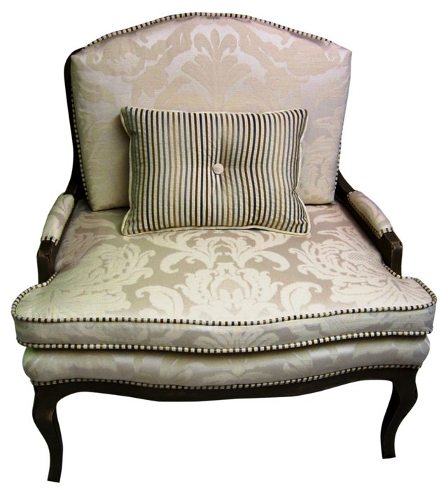 French-Style Chair w/ Pillow