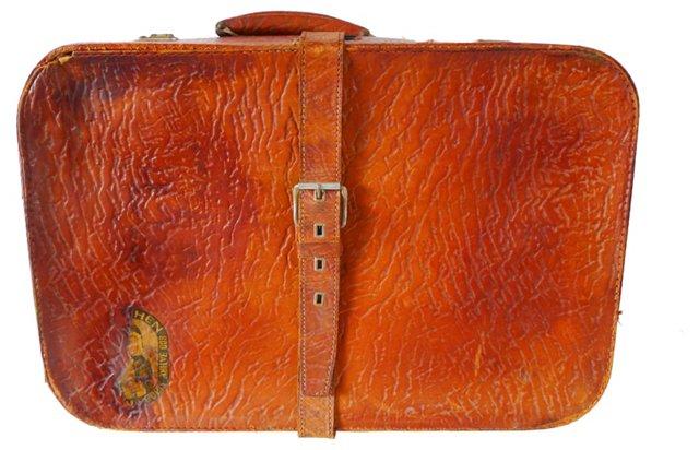 Bohemian Leather Satchel