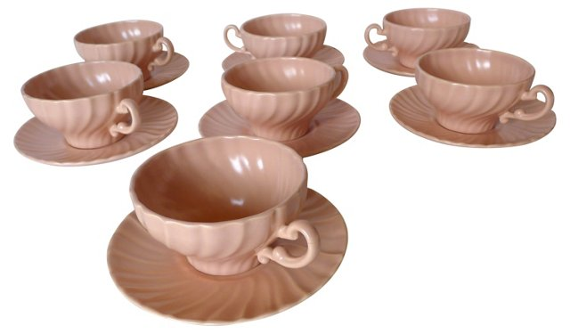 Cups & Saucers, Svc. for 7