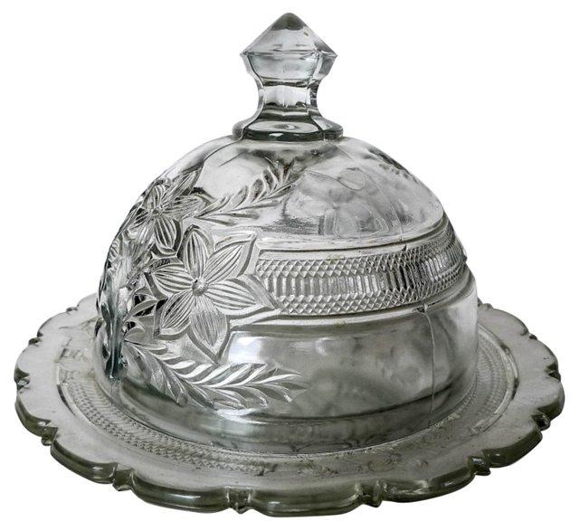 Victorian Butter Dish