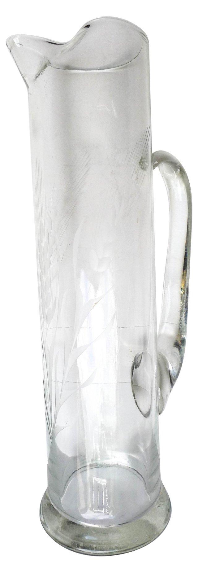 Glass Carafe Pitcher