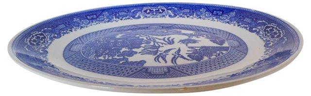 Blue & White Asian Serving Platter