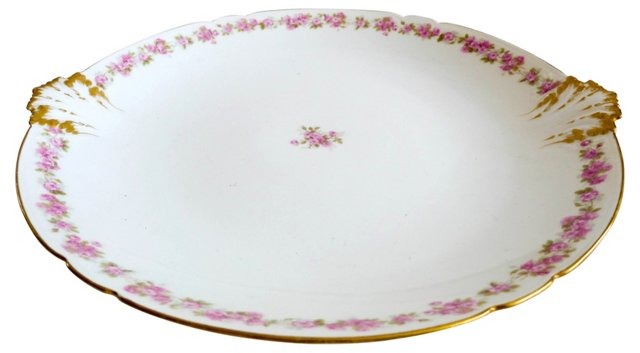 French Limoges Serving Platter