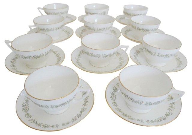 Minton Coffee Set, Svc. for 11