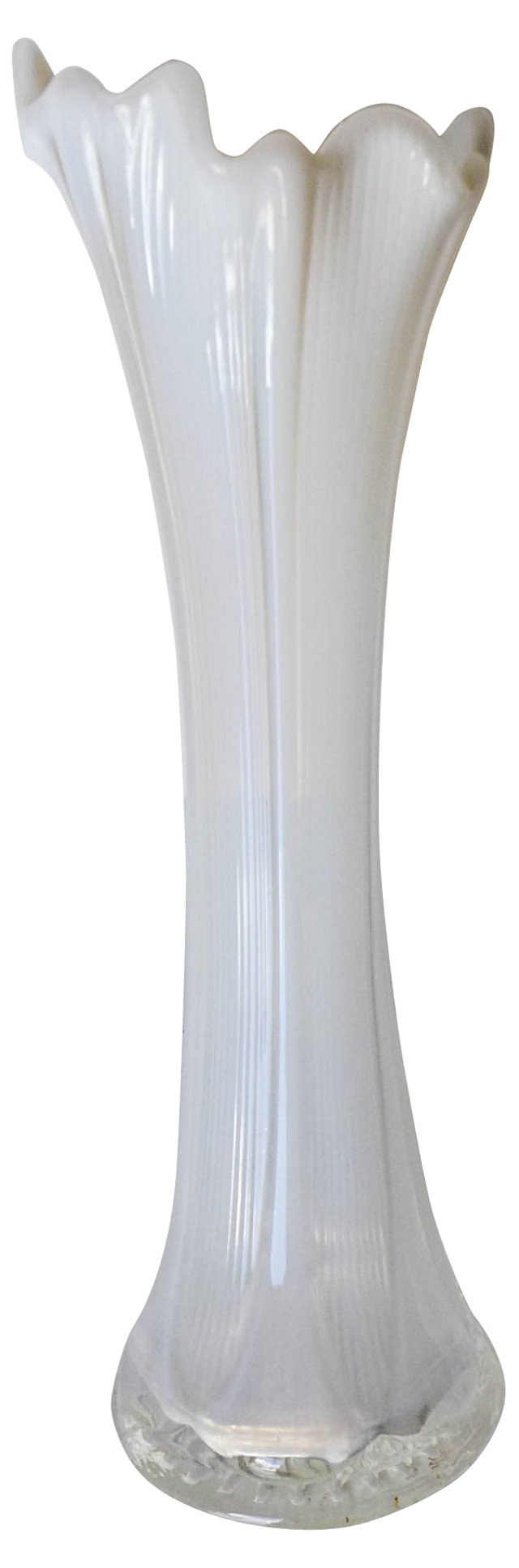 Mid-Century   Modern Glass Vase