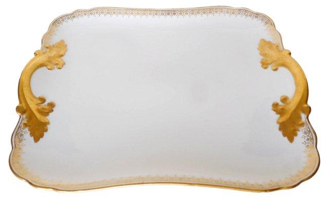 Delinieres & Cie   Limoges Platter