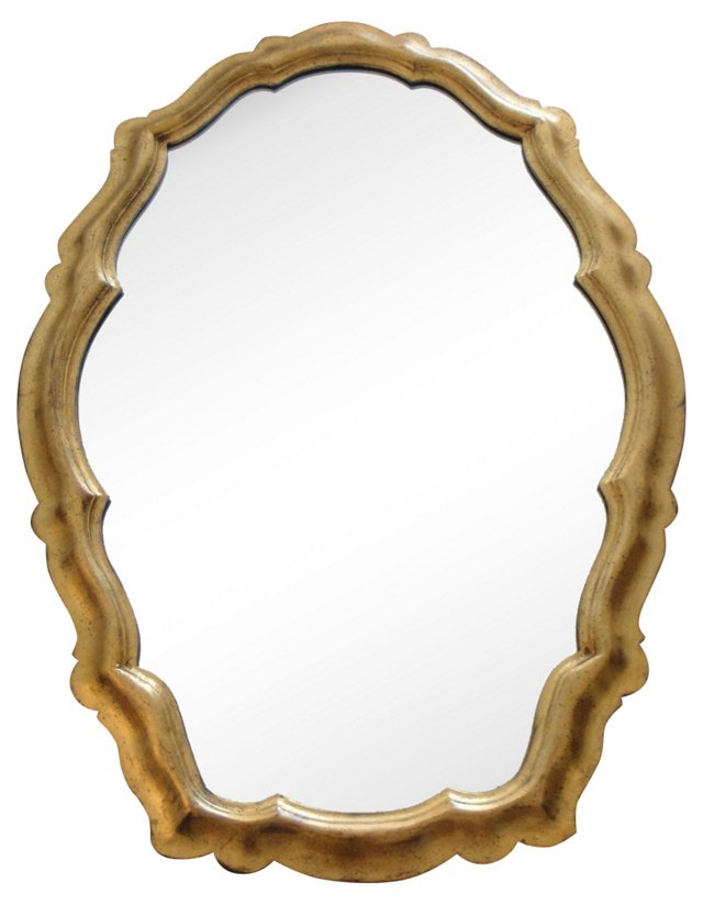 Gold Leaf Mirror by La Barge