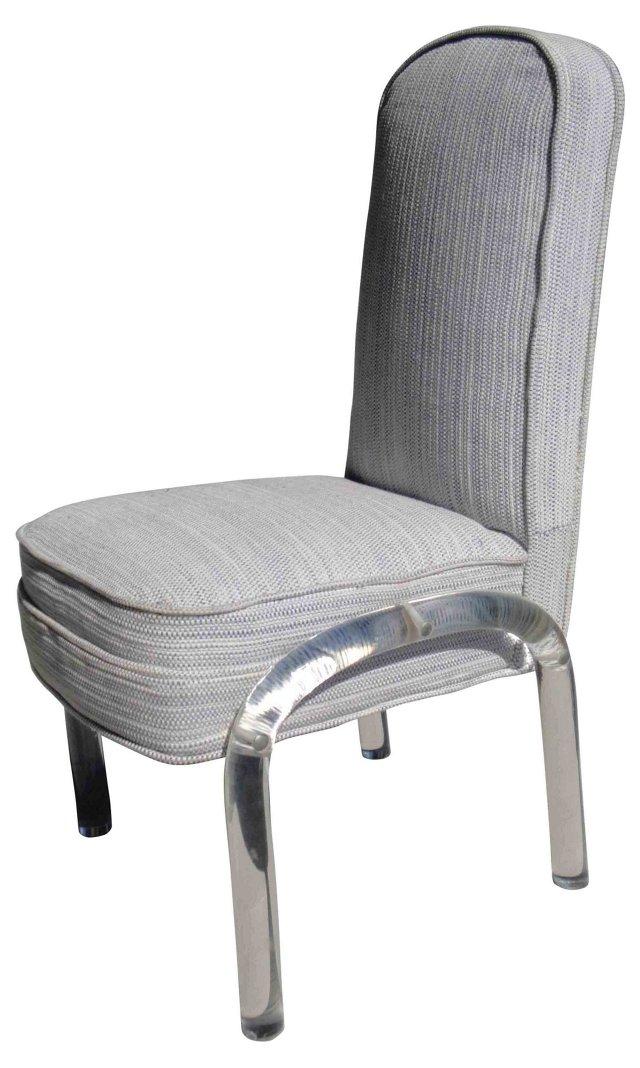 Chair w/ Lucite Legs