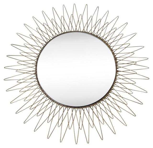 Italian Sunburst  Mirror