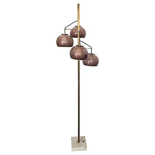 Italian Floor Lamp by Lampeter, 1960