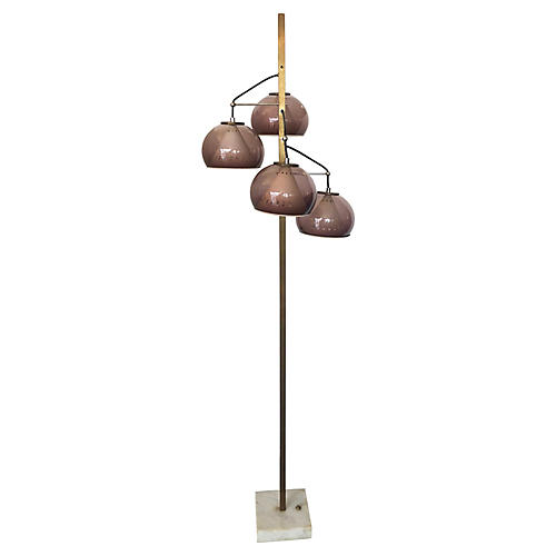 Italian Floor Lamp by Lampeter, 1960