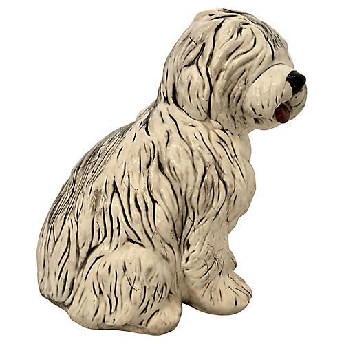 Ceramic Sheepdog