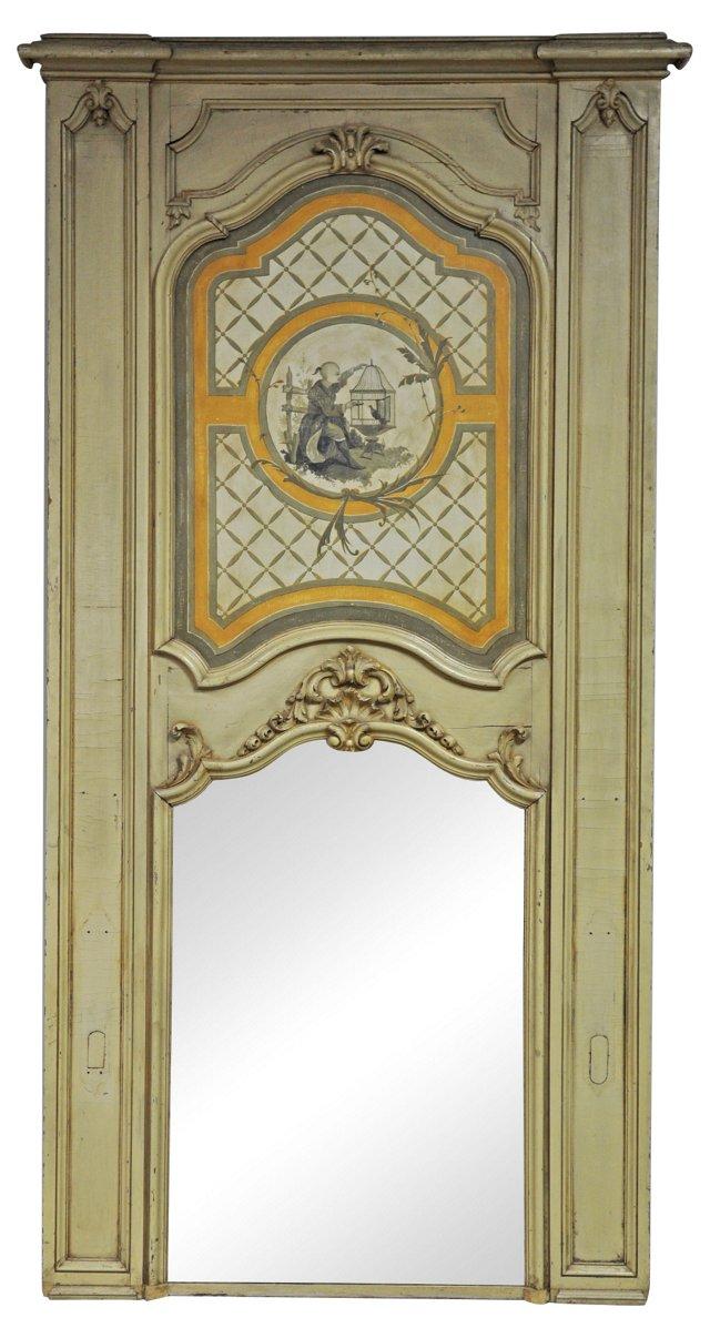 Chinoiserie Trumeau Mirror
