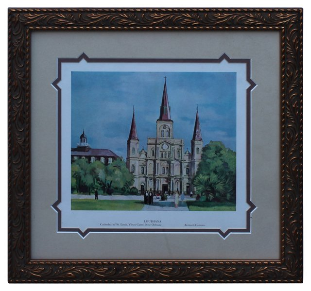 Cathedral of St. Louis Print