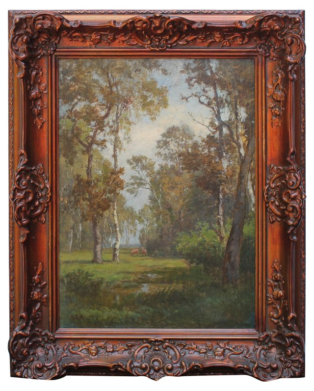 Forest Landscape by P. Roth