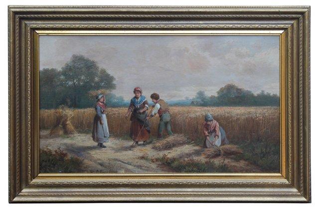 Harvest by H. P. Koekkoek