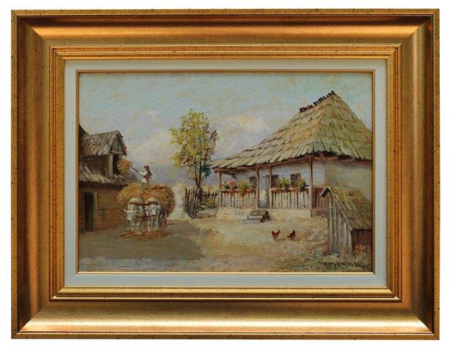 Village Life by V. Ludovik
