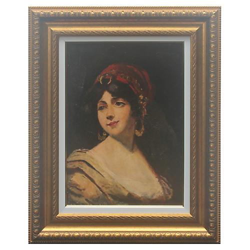 Portrait of a Noblewoman by V. Mirea