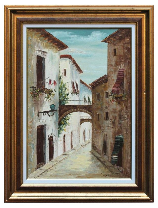 Italian Village by A. Casadelli