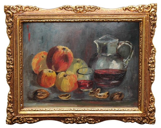 Fruit & Wine by S. Bacso