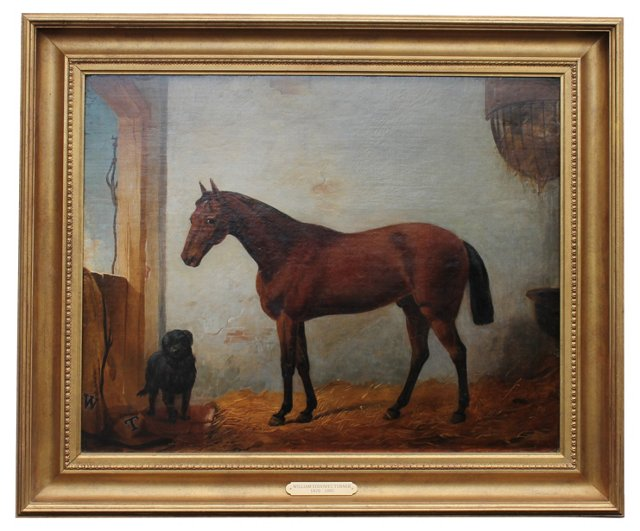 Horse Portrait by W. E. Turner