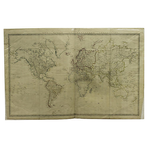 Map of the World, 1865