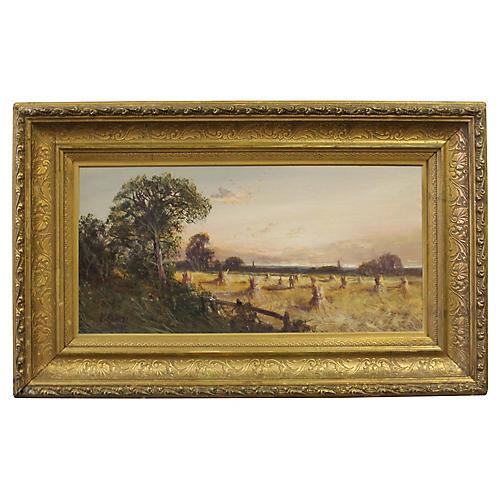Haystacks by A. Ramus