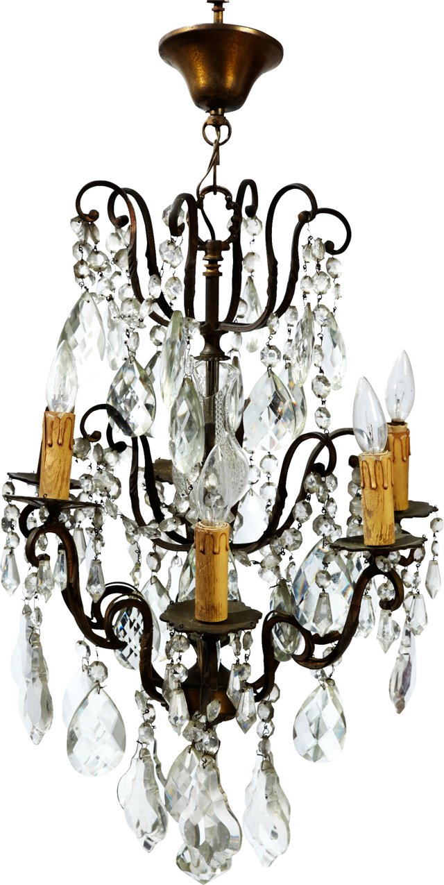 Antique French Crystal --RESHoot