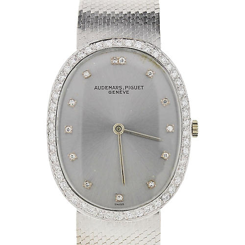 Audemars Piguet 18K Gold & Diamond Watch