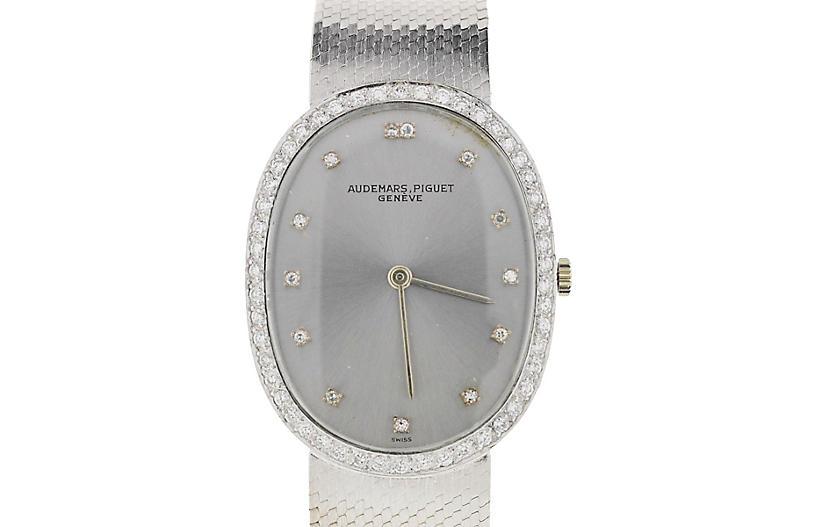 Audemars Piguet 18K Gold & Diamond Watch