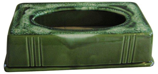 California Pottery Tissue Box Cover