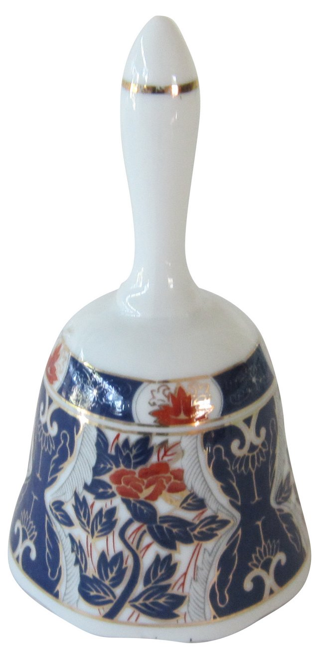 Japanese Imari Bell