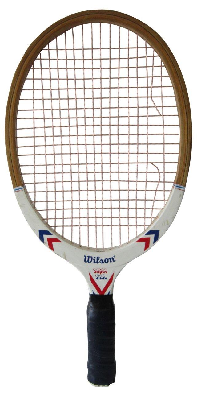 Wooden Racquetball Racquet