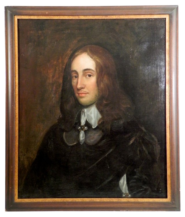 Portrait, Baroque Gentleman