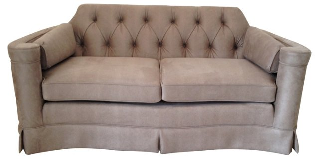 French   Tufted Loveseat